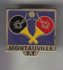 Rare pins pin's... sport table tennis ping pong club team montauville 54 ~ cz