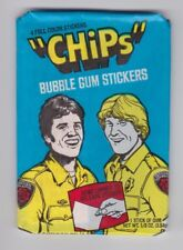 1979 Donruss CHIPS Unopened Wax Pack