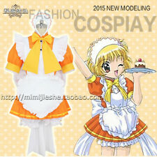 Tokyo Mew Mew Bu-Ling Huang Mew Pudding Lolita Maid Dress Cosplay Costume C018
