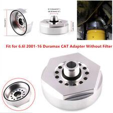 Car Oil Filter Adapter Base fit for Chevrolet 2001-2016 LB7 LLY LBZ LMM LML 6.6l