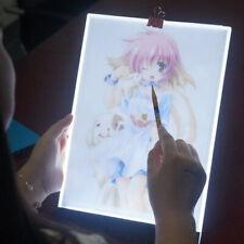 A5 led drawing tablet thin art stencil drawing board light box tracing table pad