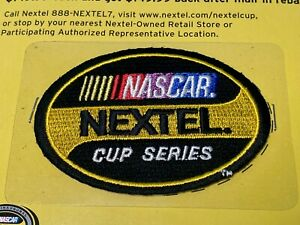 Nascar Nextel Cup Series Patch for Jacket or Hat - Self Adhesive or Sew-on