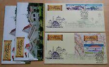 2012 Malaysia Melaka 750 Years 2v Stamp & MS on 2 FDC (Kuala Lumpur Cachet)