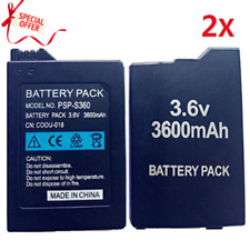 3600mAh Rechargeable Battery Pack For Sony PSP 2000 3000 Replacement Batteries