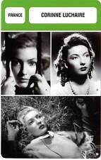 FICHE CINEMA :  CORINNE LUCHAIRE -  France (Biographie/Filmographie)