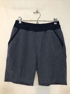 Men's Blue BCG Athletic Shorts-Size S