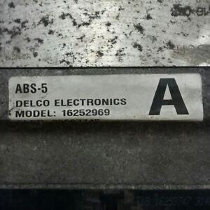96 97 98 99 Pontiac Bonneville ABS Pump Anti Lock Brake Actuator 16252969