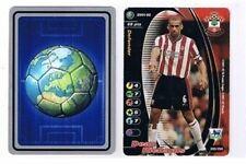 Los asistentes Premier League 2001-02 tarjeta de comercio de fútbol Southampton Dean Richards