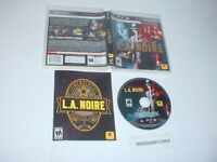 L.A. NOIRE game complete in case w/ manual - Sony Playstation 3 PS3
