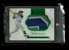 Kyle Schwarber 2016 Flawless EMERALD Prime Patch Rookie #1/5! Chicago Cubs SP RC