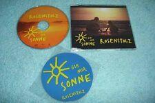 Rosenstolz Maxi-CD Gib Mir Sonne - 2-track CD - mit MAGNET !!