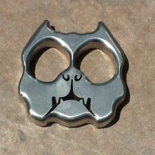 Titanium EDC security survival tactical tools finger outdoor bully dog knuckle w