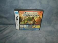 Professor Layton and the Diabolical Box (Nintendo DS, 2009)  [Complete]
