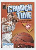 2019-20 Donruss NBA Crunch Time #20 Trae Young Atlanta Hawks  Official Panini Ba