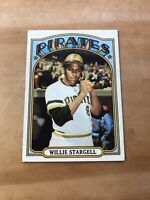 1972 TOPPS #447 WILLIE STARGELL HOF PIT PIRATES— WELL CENTERED💥*** (wph)