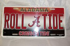 Alabama Roll Tide Auto Tag