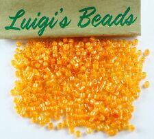 11/0 Miyuki Delica Glass Seed Beads DB2045-Luminous Mango 5g