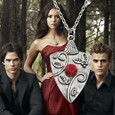 Women Silver The Vampire Diaries Bonnie Bennett Family Chain Pendants Necklaces