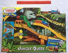 Thomas & Friends Fisher-Price Thomas the Train Take-n-Play Jungle Quest 3+ NEW
