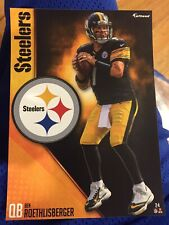 """Ben Roethlisberger  Fathead Tradeable 5"""" x 7"""" Pittsburgh Steelers Decal"""