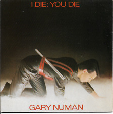 GARY NUMAN - I DIE: YOU DIE / DOWN IN THE PARK(PIANO) - 80s ELECTRONIC SYNTH-POP