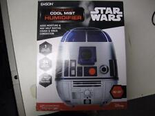 Star Wars Ultrasonic Cool Mist R2D2 Humidifier 1 Gallon Capacity NEW