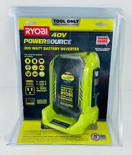 Ryobi 40v Powersource 300 Watt Battery Inverter Ryi300gb 1004 178 216