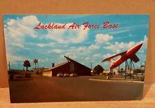 Vintage Postcard Lackland Air Force Base Martin B-61 Matador, San Antonio,Texas