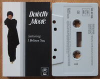 DOROTHY MOORE (EPIC 40-82256) 1977 UK CASSETTE TAPE ELECTRONIC DISCO SOUL