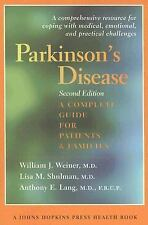 Parkinson's Disease: A Complete Guide for Patients and Families (A Joh-ExLibrary