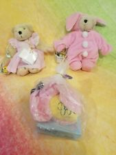Muffy Easter Fantasy Bunny 1991 OUTFIT w EASTER dress+ flutterbyes pack(3)items
