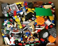 2KG MIXED LEGO + 4 FREE MINIFIGURES!! Genuine Official used Lego Bricks & Parts
