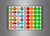 288x stickers reward schools teachers parents awards children kids  motivation