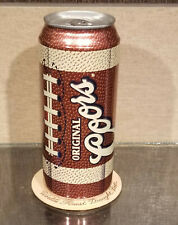 Bottom Opened Pigskin Football Coors Beer Can Golden Colorado 16 Ounce Oz