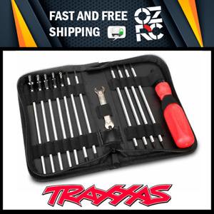 NEW TRAXXAS UNIVERSAL RC CAR HOBBY TOOL KIT SET with CARRY POUCH 3415 OZRC JL
