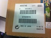 ORIGINAL Lexmark 40X3746 C935 X940 X945  Developer Carrier  cyan neu