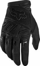 Fox dirtpaw Race bicicleta enduro motocross MX guantes negro/negro M
