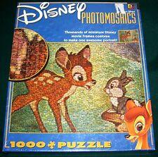 Disney Bambi Photomosaics 1000 pc Jigsaw Puzzle - MISB - New!