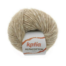 ALPACOTTON KATIA Alpaka + Baumwolle Alpaca Cotton weiche Wolle Flauschgarn F.51
