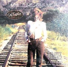 """Mylène Farmer 2x12"""" California (Remixes) - Tirage limité, réédition 2018"""