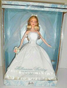 Vintage 1999 Barbie Millennium Wedding Blonde Doll - New in Box No. 27674