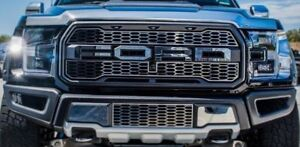 Grill Letters for 2017 2018 2019 Ford F150 Raptor (Polished Stainless Steel)