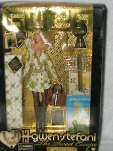 "GWEN STEFANI "" THE SWEET ESCAPE"" DOLL NEW IN BOX 2007"