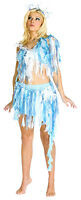 Winter Nymph White Ice Goddess Princess Fairy Adult Costume