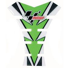 MotoGP Motorcycle Tank Pad Motorbike Tank Protector Green & Carbon