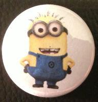 BUY 2 & GET 1 FREE - Minion 25mm 1'' Pin Button Badge - Despicable Me Kool Retro