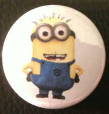 BUY 2 & GET 1 FREE - Minion 25mm 1'' Pin Button Badge - Despicable Me Kool Retro
