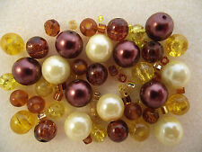Bead Mix / Bracelet Making Kit - Sun Flower