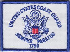 "United States Coast Guard Flag Patch 2 5/8"" X 3 5/8"" Uscg Us"