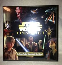 Star Wars CCG Episode 1 Customizable Game Box by Decipher - Factory sealed